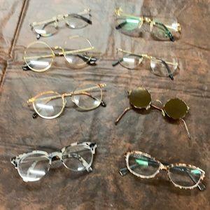 Prescription eyeglass frames